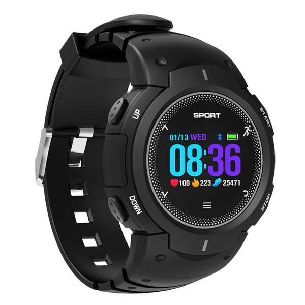 Swimming diving bluetooth sport watch heart rate monitor multi sports color screen fitness smart watch Wristbands men women F13