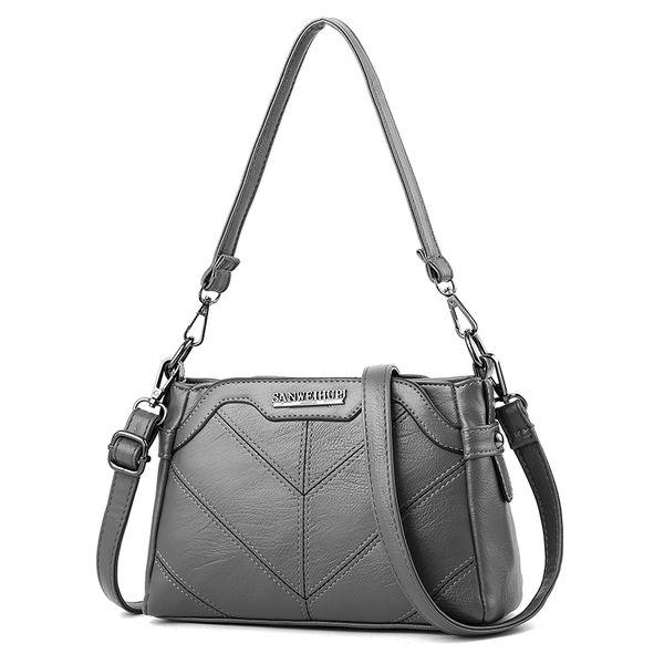 0928df4d76e 2018/2019 New Women's Bag Korean Fashion Ladies Shoulder Bag Simple Wild  Messenger Women Handbag