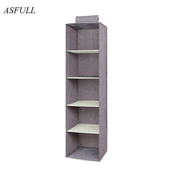 Household Creative Hanging Drawer Box Cloth Underwear Woman Shoes Storage Supplies Wardrobe Organizer Shelves