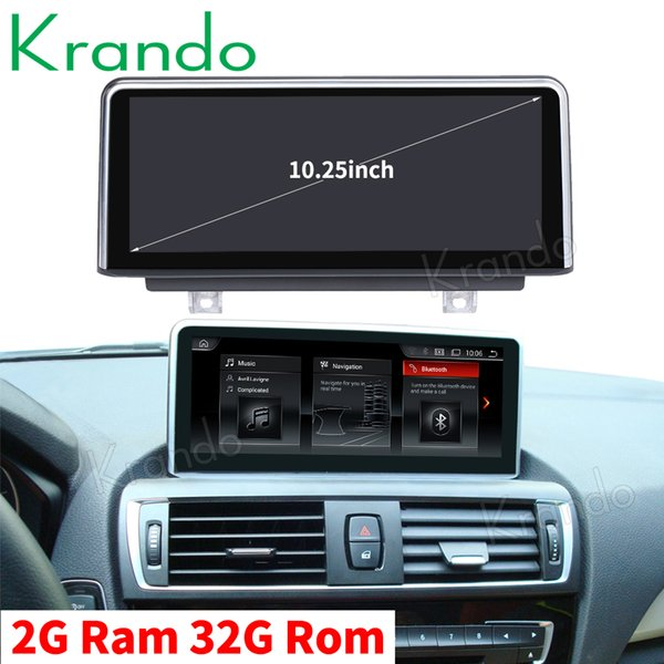 Krando Android 9.0 10.25'' car navigation system for BMW 1 Series F20 F21 2011-2016 car audio multimedia player radio audio GPS car dvd