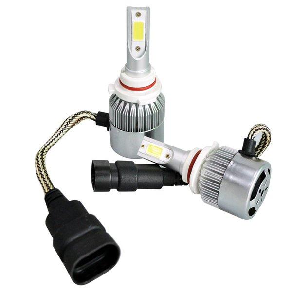 9006 High Power 300 Watt 30000LM 6000 Karat Weißes LED-Licht Energiesparende Scheinwerfer Fahrzeug Auto Hi / Lo Glühlampen Kit 12 V-24 V