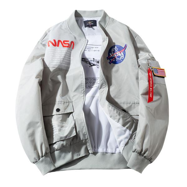 NASA Designer mens designer jackets ma1 astronaut Jacket Men Women Windbreaker Baseball Wintercoat Europe Mens Jacket Size S-4XL