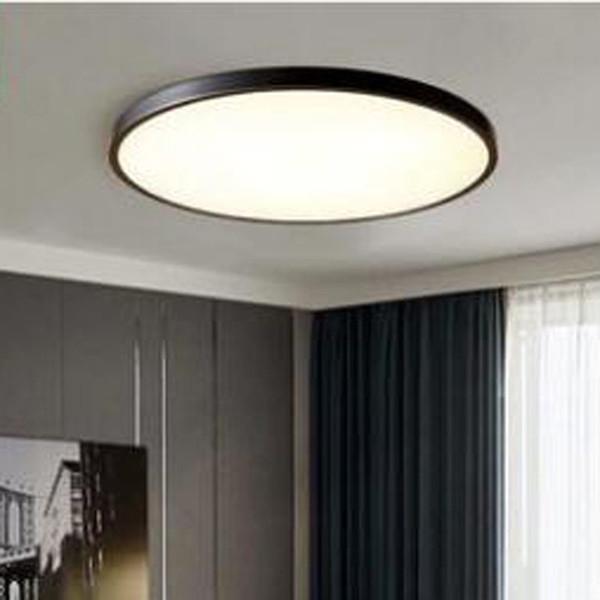 Großhandel L American Kupfer Deckenleuchte Hause Einfache Studie  Schlafzimmer Lampe LED Runde Ultradünne Flur Flur Beleuchtung LED Von  Callaway, ...