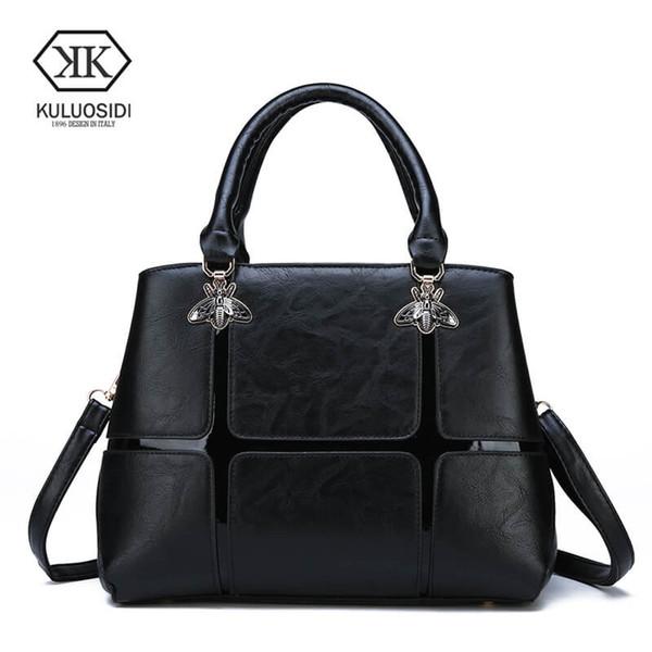 New Casual Women Crossbody Bag Big Ladies Shoulder Bags Plaid Luxury Handbags Women Messenger Bags High Quality Leather Tote Bag