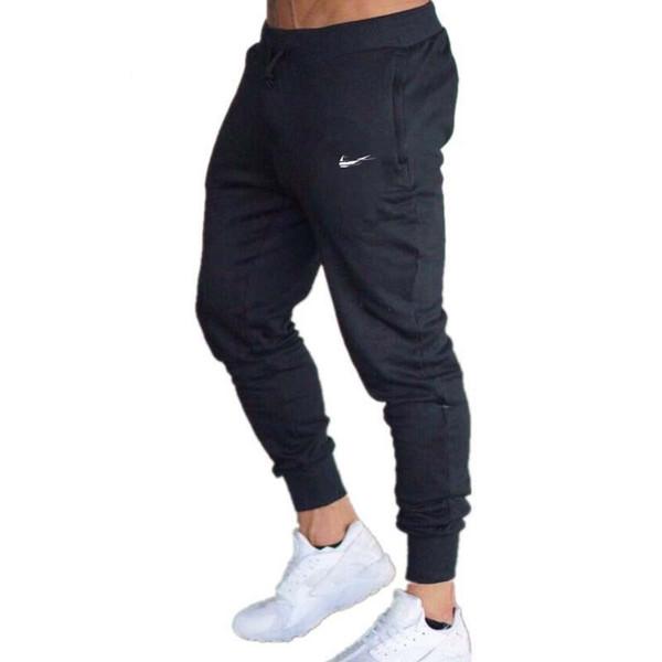 gym1266 / 2018 neue männer jogger marke männlichen hosen casual hosen jogginghose männer gym muskel baumwolle fitness workout hip hop elastische hosen
