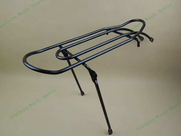 "bicycle bike Rear Rack seat,16"" 20 inch wheel folding bike,V brake,bicycle backseat luggage rack,black color 840g #233378"