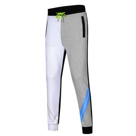 Automne Printemps Sport Marque Pantalon Hommes Femmes Contraste Couleur cordonnet Pantalons actifs Pantalon course de pleine longueur Top B100287V Qualité
