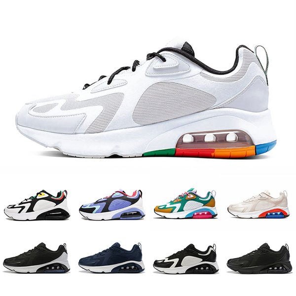 200 white black mens running shoes s bordeaux blue desert sand royal pulse mystic green vast grey air trainers sports sneakers