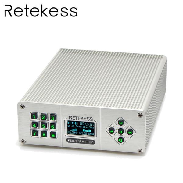 Retekess TR505 25W PLL FM-передатчик антенны USB Мини радио стерео станция беспроводной Lossless M