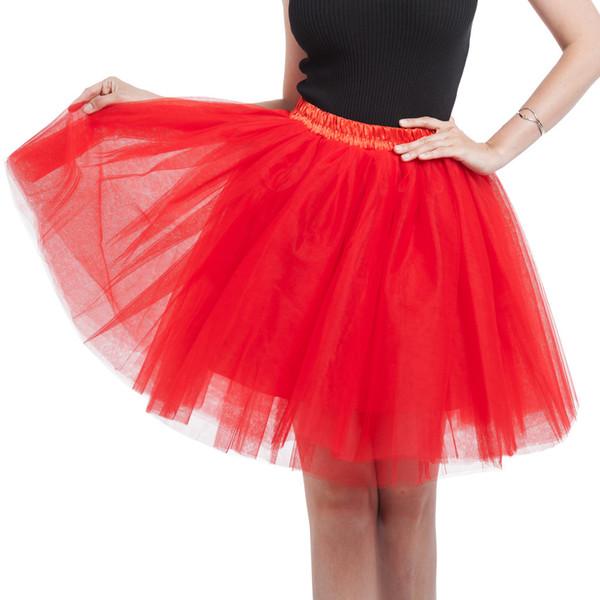 Vêtements pour femmes adultes Tutu Pettiskirt Princesse Party Jupes Mini Summer Dance jupes courtes espace couleur bonbons tutu femmes