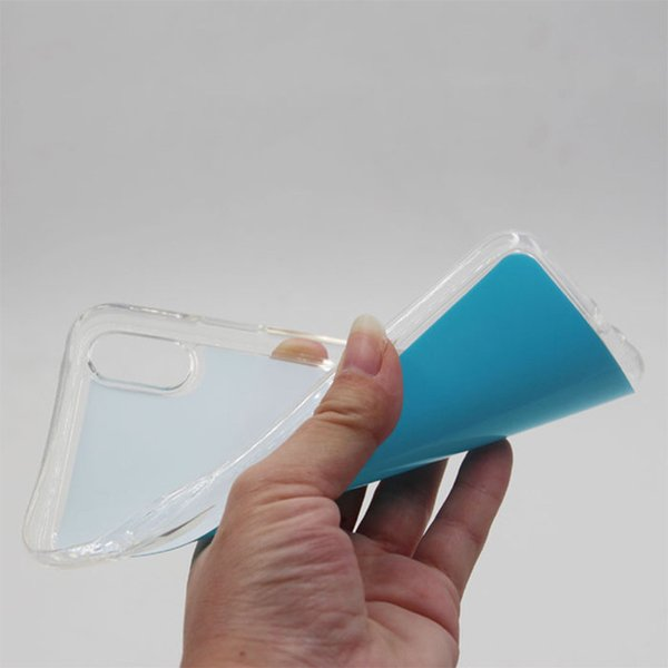 Custodia TPU Sublimation 2D fai da te per iPhone 6 7 8 Plus X XR XS Max Cover per Samsung S10 S9