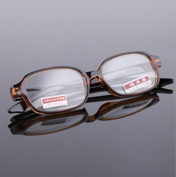 Retro Style Glass Lens Reading Glasses Unisex Presbyopia Prescription lens Eyewear Diopter +1.0 to +4.0