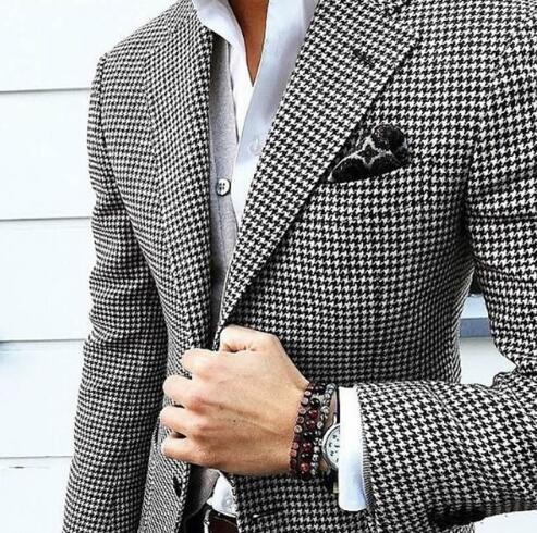 Balıksırtı Düğün Smokin Erkekler Için Slim Fit Suits Groomsmen Suit İki Adet Ucuz Balo Örgün Suits (Ceket + Pantolon + Kravat) 177