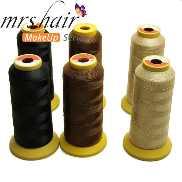 1Roll/lot Hair Weaving Thread High Strength Polyester Thread for Brazilian hair Extension Sewing Salon Styling Tools