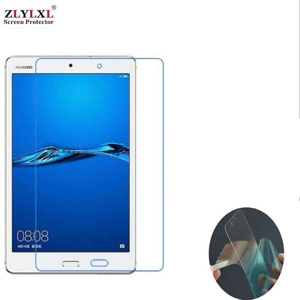 best selling 2 pcs alot soft Ultra-thin HD film for Huawei MediaPad M3 Lite 8.0 screen protector