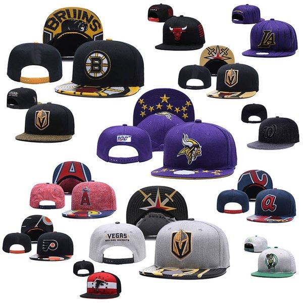 Toptan Satış - Toptan-Erkek Kadınlar Boston # Los Angeles # Bulls En Kaliteli Snapback Cap Sıcak Yeni Stil Ayarlanabilir Casquette Şapka