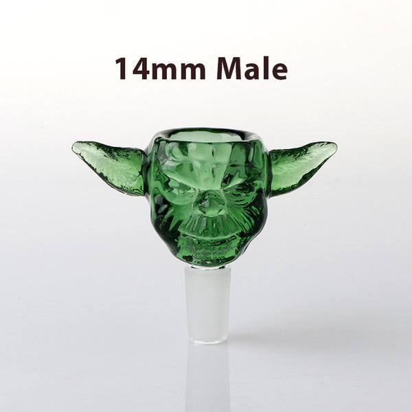 14mm Male Green Monster