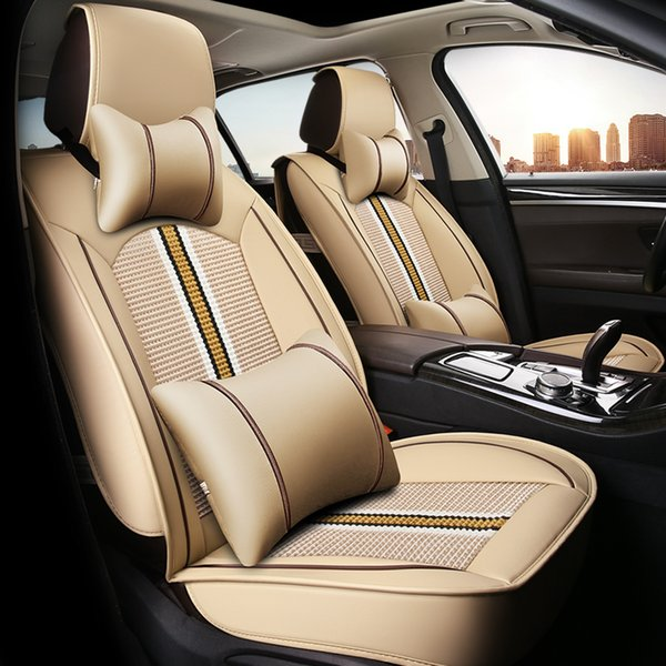 Fabulous Autocar Seat Cover Four Seasons Universal For Toyota Rav4 Corolla Vios To All Inclusive Summer Mixed Colors Ice Silk Cushion Covers Fitted Seat Covers Gamerscity Chair Design For Home Gamerscityorg