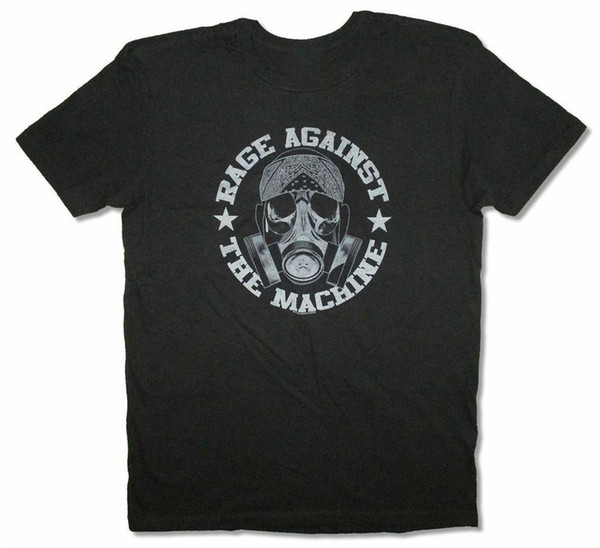 Bandana Mask Black T Shirt New RATM Free Shipping Tee Shirt