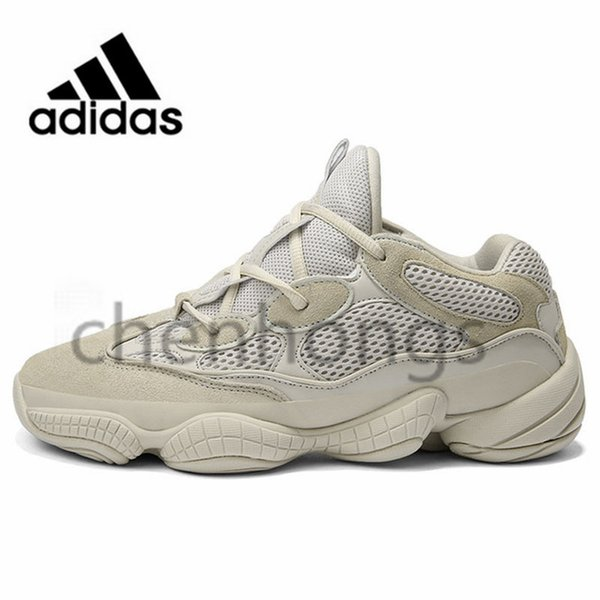 huge discount 92ded e9df4 2019 Original Adidas Yeezy 500 Athletic Running Shoes Luxury Designer 700  Blush Desert Rat Runner Kanye West 500s Boost Super Moon Yellow Salt  Utility ...