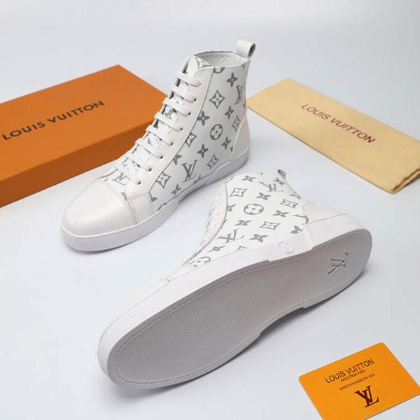 Модные Кроссовки Мужские Ботинки Сапоги Дышащая Обувь Платформа Chaussures pour hommes Ботильоны Мода M # 06 Мужская Обувь Горячая Продажа