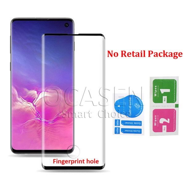 Case Friendly 3D Curved Tempered Glass For Samsung Galaxy S8 S9 S10 Plus Note 8 9 S7 Edge Small Version Screen Protector Film