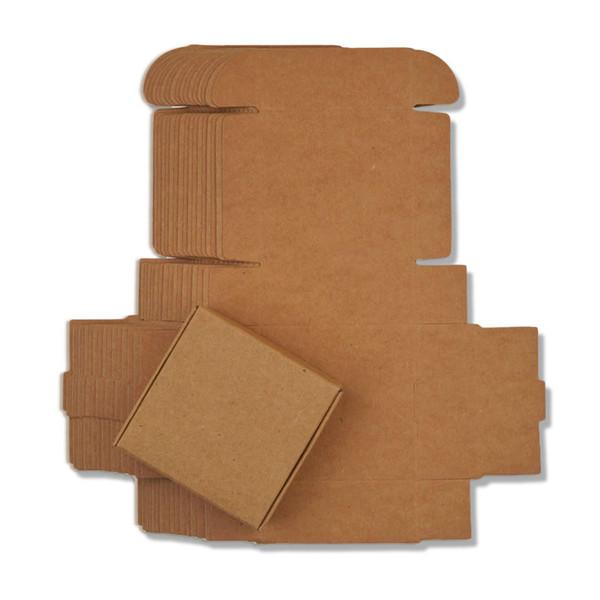 papier kraft 4x4x2,5cm
