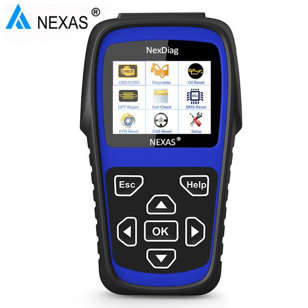 Nexas ND602 OBD2 Automotive Scanner For LR Jag Car Diagnostic Tool All System Airbag Oil EPB BMS SAS Service Reset Diagnostic