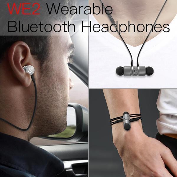 JAKCOM WE2 Wearable Wireless Headphone Vente chaude dans les écouteurs écouteurs comme trophée de feu selles mobiles