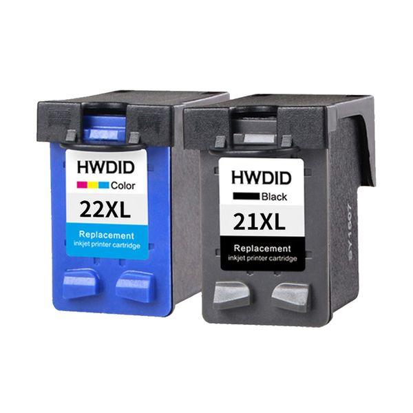 Substituição de Cartucho de Tinta de Recarga de 21XL 22XL para HP / HP21 para HP / HP 21 Deskjet 3910 3930 3940 D1311 D1320 D1330 D1341 D1455