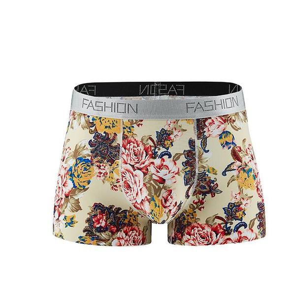 Yeni erkek boksörler underwears Antibakteriyel Dikişsiz erkek Buz Ipek Iç Çamaşırı, Hava geçirgen Seksi Gençlik Düz Pantolon en kaliteli 1688 ücretsiz 11 gemi