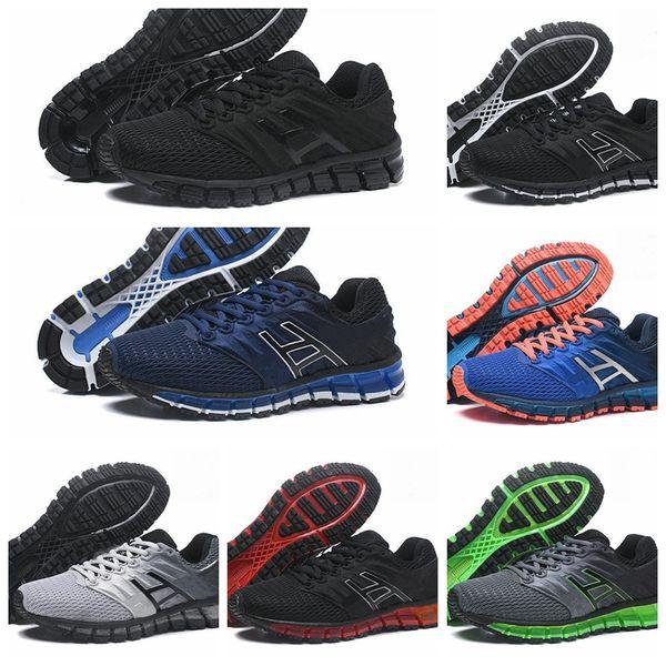 Asics GEL-Quantum 180 2019 Nouveau TN vamp Chaussures De Course Pour Hommes Noir Bleu Rouge Gris Mode Bas sport de plein air Baskets Taille 7.5-11