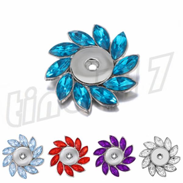 Botón de aleación de moda Broche último broche en forma de flor Broche de personalidad variada Broche decorativo T9C0068