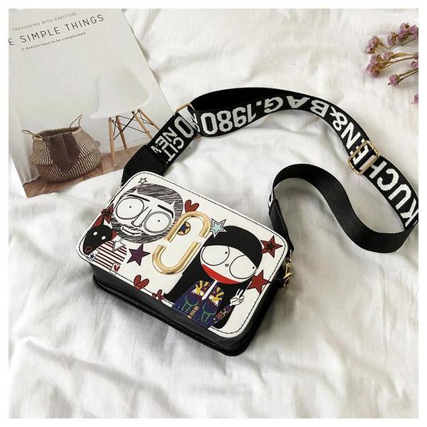 Mini Cross Body Bags Cartoon Characters Designer Shoulder Bags Women Leather Luxury Handbags Portable Totes Bag Free Shipping