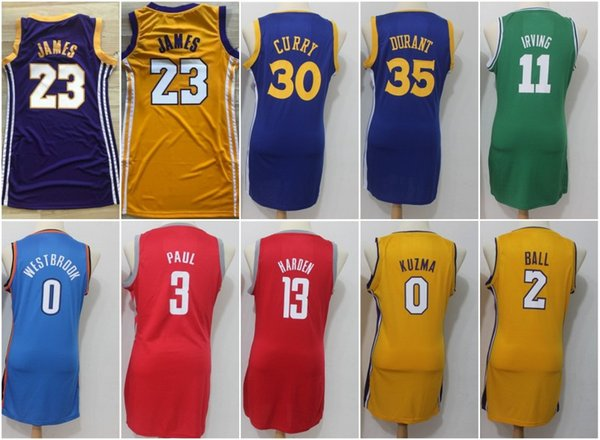 Women Los Angeles 23 James Lakers Jerseys Golden State 30 Stephen LeBron  Curry Warriors 35 Durant d836f30c7