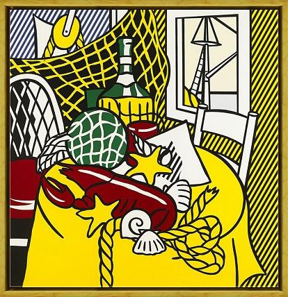 Roy Lichtenstein Still Life With Lobster High Quality HandPainted &HD Print Wall Art Oil Painting On Canvas Home Decor Multi sizes R13