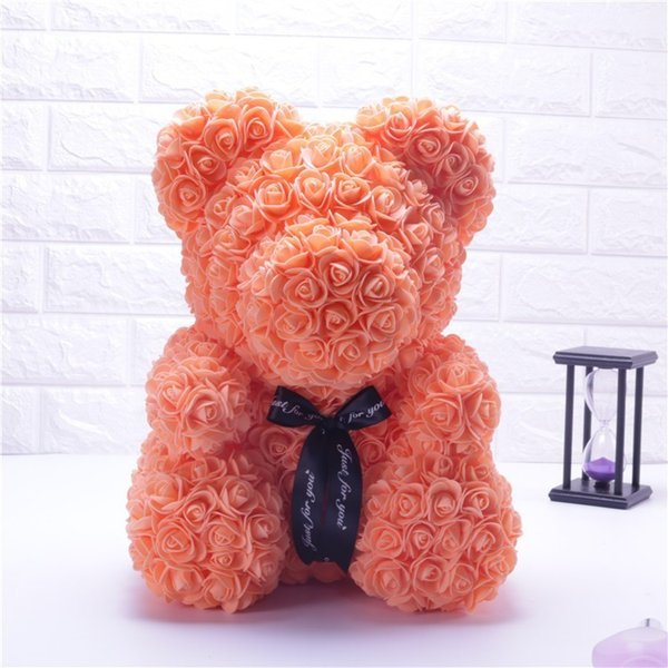 25cm orange bear