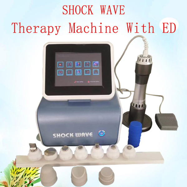 Treatment of erectile dysfunction with Acoustic radial shock wave/Extracorporeal onda de choque physical therapy machine for ED