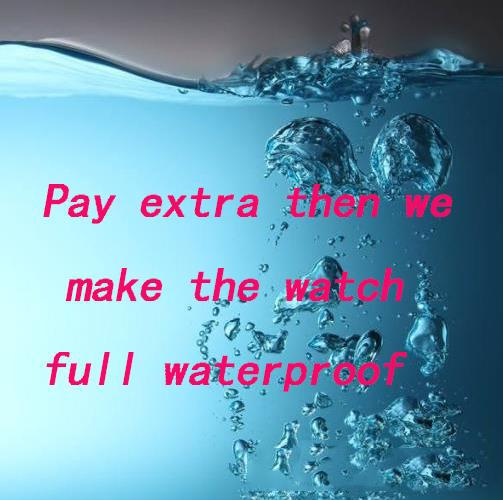 # 9 líneas de pago reloj maquillaje a prueba de agua adicional