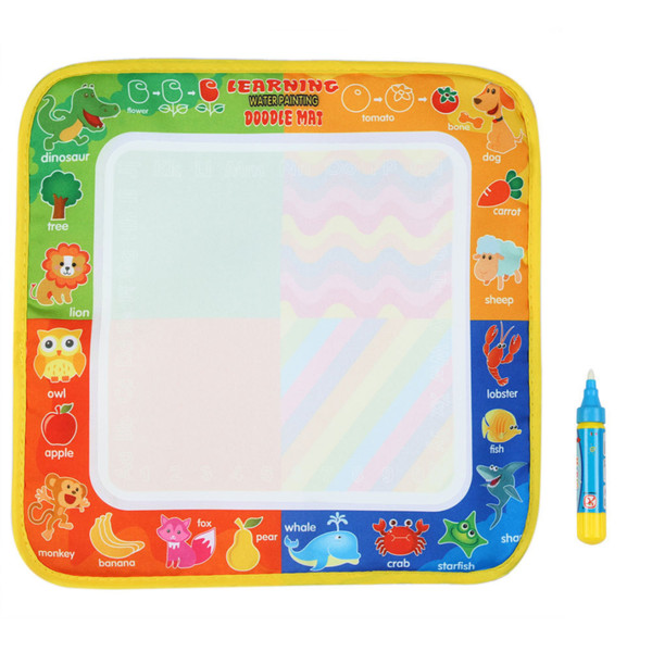 20PCS 29 * 30 CM New Drawing Toys Water Drawing Mat Board Doodle With Magic Pen Non-toxic Drawing Board for Kids