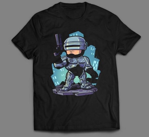 Compre Robocop Arte Dos Desenhos Animados Do Filme Oldskool