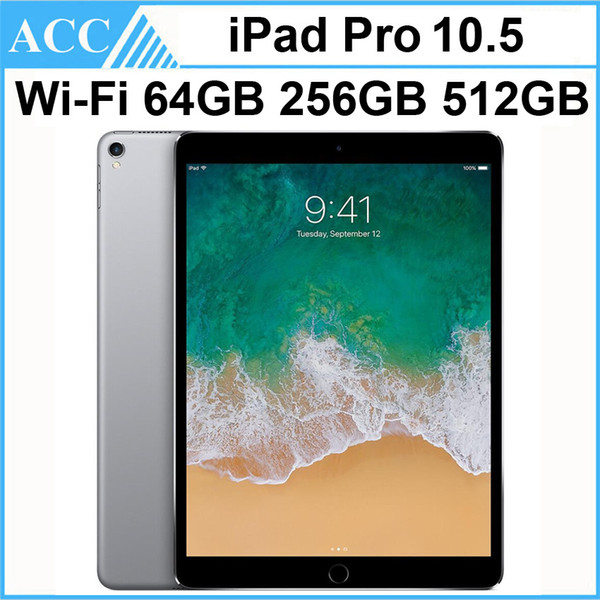 best selling Refurbished Original Apple iPad Pro 10.5 inch WIFI Version IOS A10X Chipset 4GB RAM 64GB 256GB 512GB ROM Tablet PC DHL 1pcs