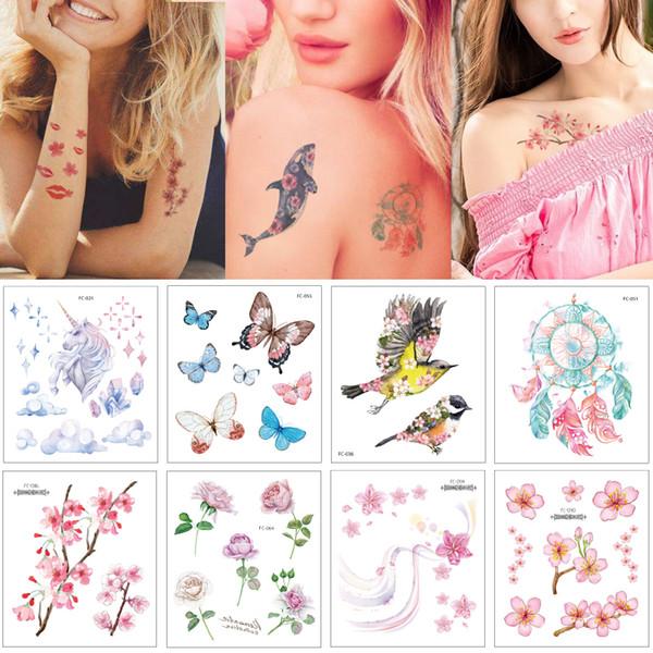 Tatuagens De Fenix Tatuagem Etiqueta 12x105cm Fc Desenho