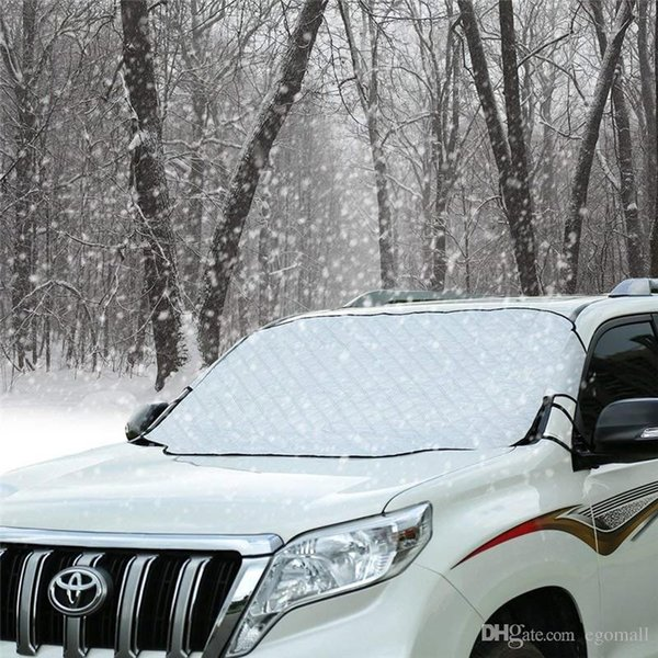 Pára-brisa do carro de Neve Gelo Cobertura Protetor de Viseira Protetor de Gelo Wiper Windproof Auto Sun Sombra para o Carro Minivan e SUV com Magnético