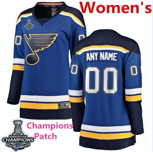 Patch Womens Blue Home Champions