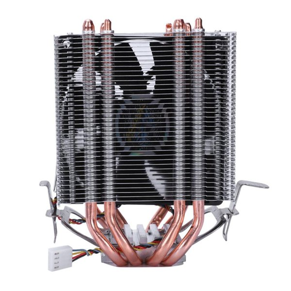 LANSHUO 4 Heat Pipe 4 Wire Without Light Single Fan Cpu Fan Radiator Cooler Heat Sink For Intel Lga 1155/1156/1366 Cooler