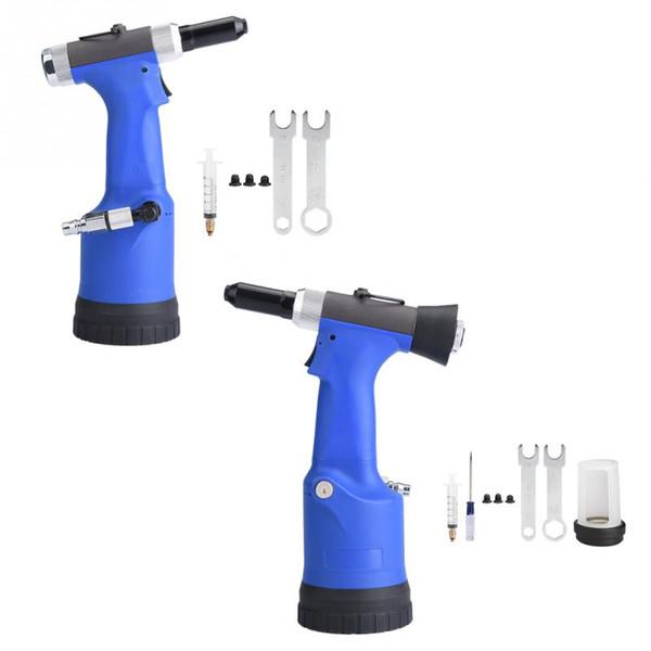 KP-708 / 708X Pneumatische Nietmaschine Hydraulische Nietpistole Nietwerkzeug für Nieten 2,4 / 3,2 / 4,0 / 4,8 mm Hohe Qualität
