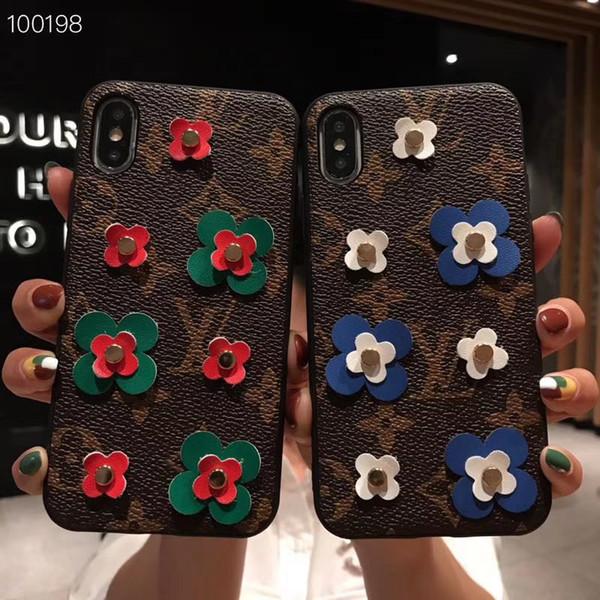 Cas de téléphone de conception rétro pour iPhone XS Max XR X 8 7 6 s Plus Shell de luxe d'impression Smartphone Case English Back Phone Cover