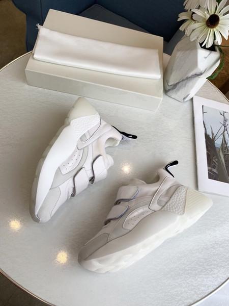 Роскошная Тройной старая папаа обувь Утроителя тапки ясно подошва Chaussures ретро SCARPE женщины Zapatos мужчин Hommes Hombre мужские hem19051105