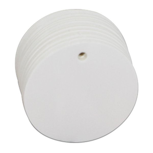 Diametro 5cm rotondo bianco